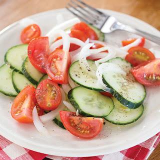 Marinated Vegetable Salad.
