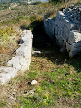 Photo: Byllis, Gate of the Hellenistic city wall