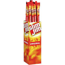 A package of slim jims