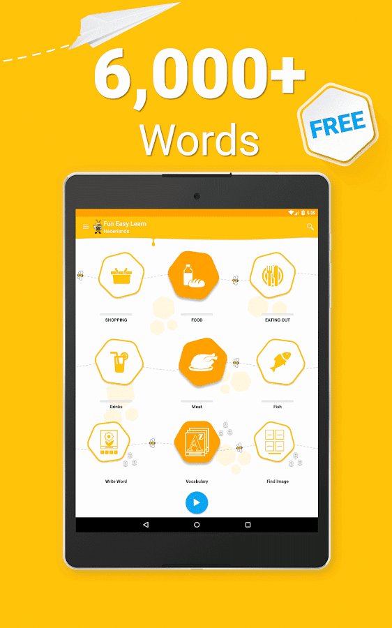 Learn Dutch Vocabulary - 6,000 Words- screenshot