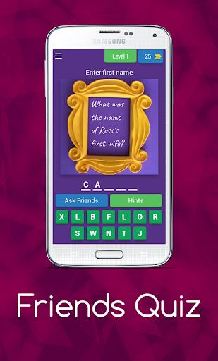 Friends Quiz and Trivia 7.8.3z screenshots 1