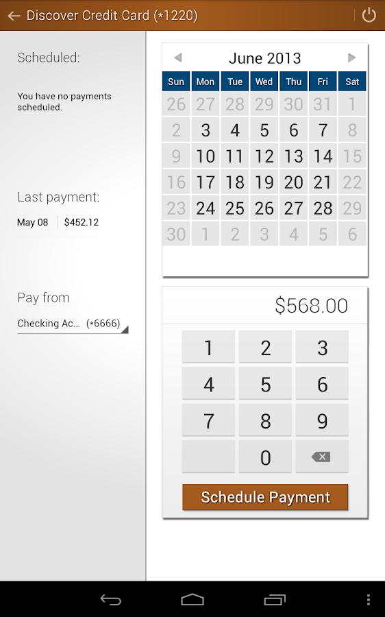 North County CU Mobile Banking- screenshot