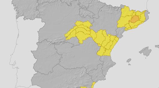 Aviso amarillo por fuerte viento en Almería durante todo el fin de semana