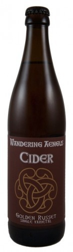 Logo of Wandering Aengus Golden Russet