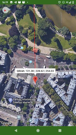Islam.ms Prayer Times Qibla finder Locator Compass screenshot 2