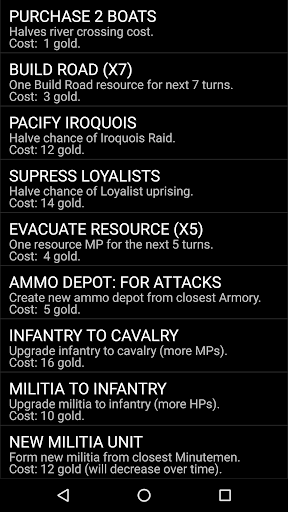 American Revolutionary War  screenshots 8