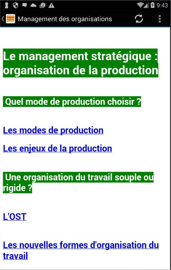 Management des organisations android apps on google play for Portent french translation