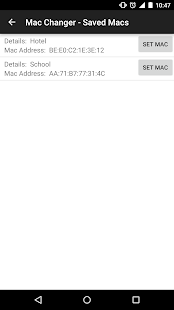Wireless Mac Address Changer- screenshot thumbnail