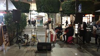 La actuación de José Cruz el viernes 8 de noviembre.