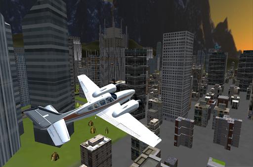 飛行機レアルパイロットシミュレータ