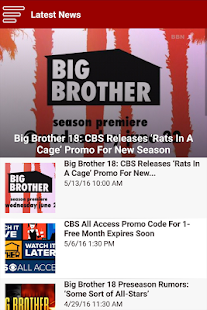 Big Brother Network- screenshot thumbnail