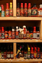 Photo: Hot sauces http://ow.ly/caYpY