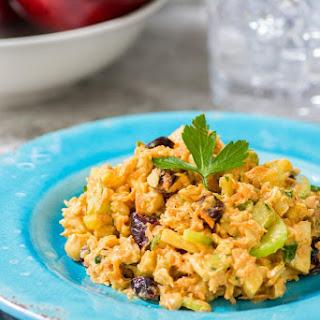 Curry Chickpea Chicken Salad.