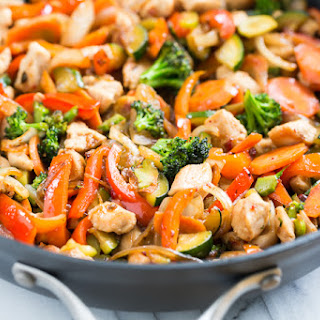 Sweet Chili Chicken Stir Fry Recipes