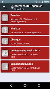 Atemschutz - Tagebuch - náhled