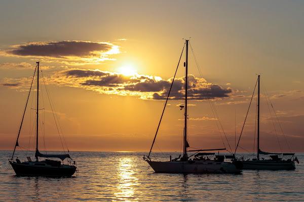 Il mare calmo della sera di pierce