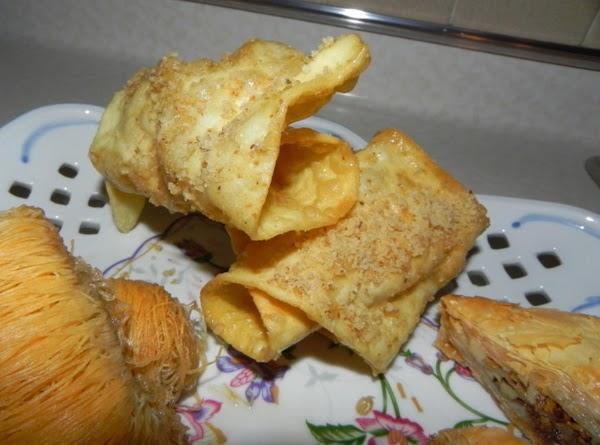 Diples (honey Rolls) Recipe