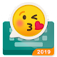 Rockey-fast emoji send keyboard for coloful chat Download on Windows