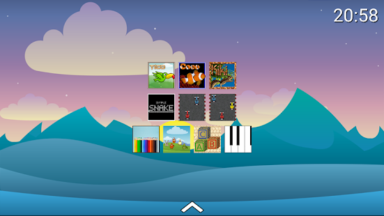Umbra Kids Launcher + 9 games included Screenshot