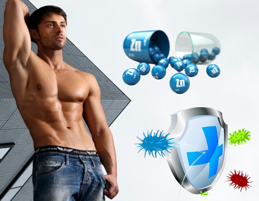 kẽm sinh học giúp tăng cường sinh lý nam