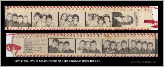 """Photo: Str. Rapsodiei, Nr.1 - Scoala """"Avram Iancu"""" - elevi ai scolii in anul 1977, absolventi ai clasei II-a -  fosta Scoala Generala Nr.6 - sursa foto - Ioana Zamfira (Andreica)"""