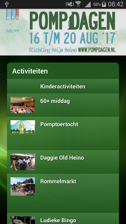 Pompdagen- screenshot
