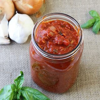 Red Wine Basil Pasta Sauce