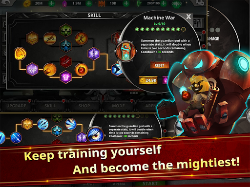 Stickman Legends - Ninja Warriors: Shadow War  screenshots 12