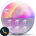 Colorful Glass Contacts&Dialer icon