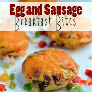 Egg and Sausage Breakfast Bites