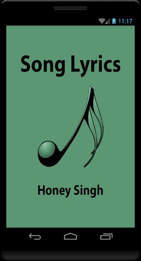 Hindi Lyrics of Honey Singh