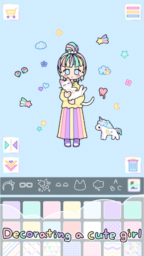 Pastel Girl  captures d'u00e9cran 2
