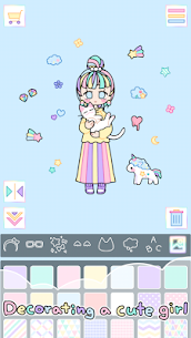 Pastel Girl MOD Apk 2.4.1 (Unlimited Shopping) 2