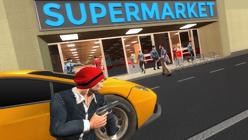 슈퍼마켓 강도 범죄 3D