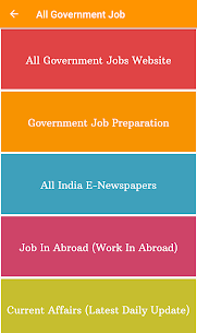 All Government Job App Download For Android and iPhone 8