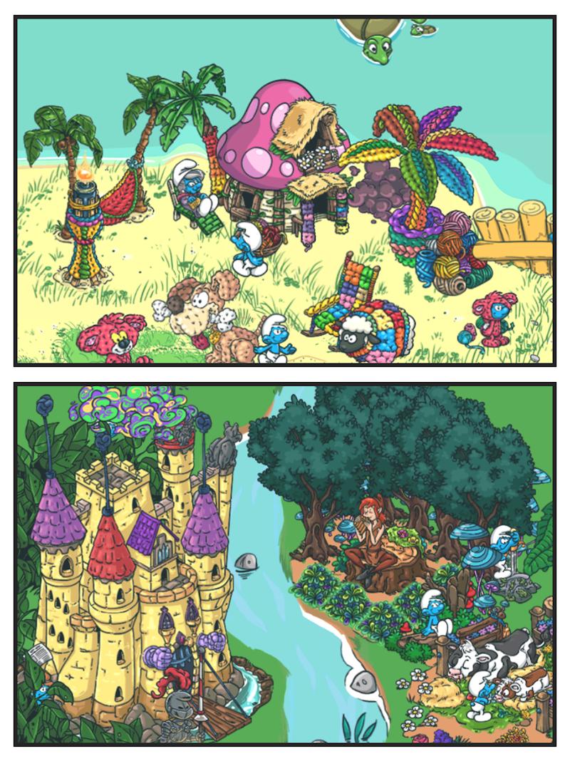 Smurfs' Village Screenshot 9