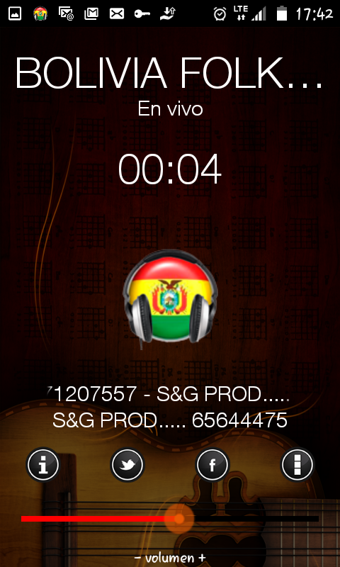 BOLIVIAFOLKRADIO- screenshot
