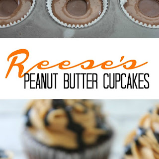 Reese's Peanut Butter Cupcakes Recipe!