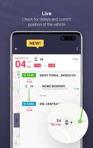 Jakdojade: public transport 4.5.3 screenshots 3