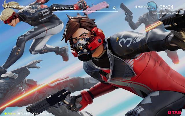 Fortnite New Tab Hd Background Theme