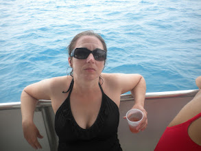 Photo: Relaxing and drinking rum punch after snorkeling with the turtles and over a couple shipwrecks.