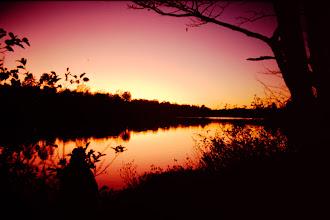 Photo: Sunset.