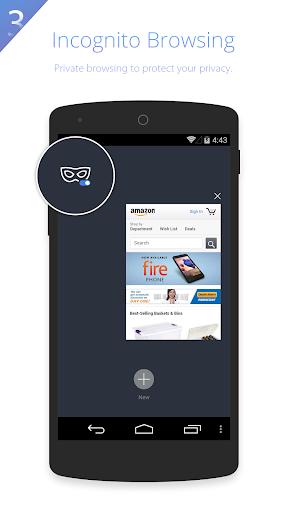 UC Browser HD screenshot 3