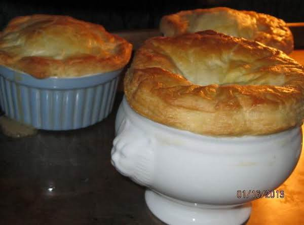 Chicken Potpie With Puff Pastry Recipe