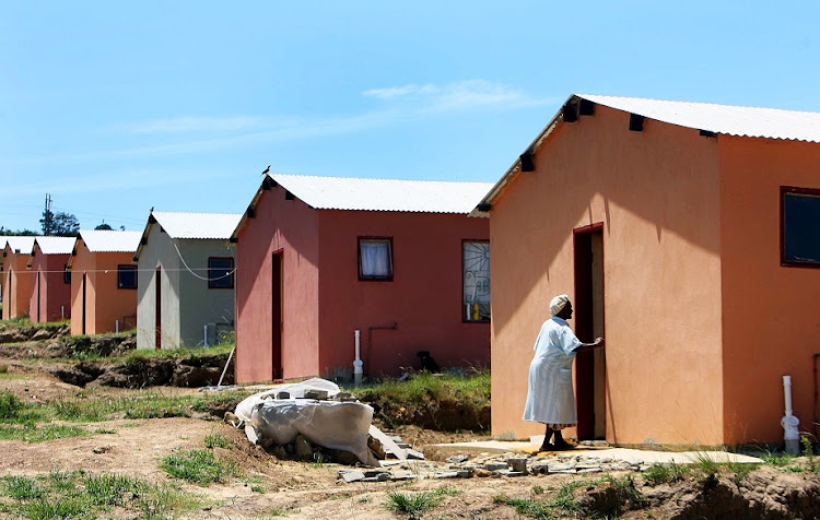 RDP houses. File photo