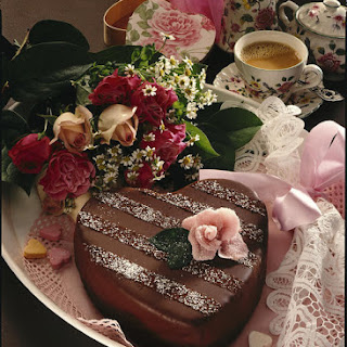 Chocolate Heart Cake.