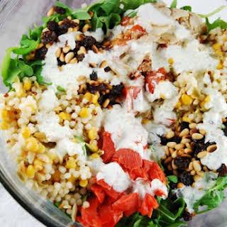 Arugula and Smoked Salmon Salad.
