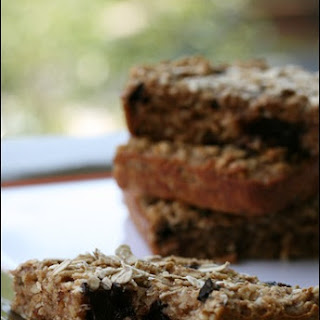 Oatmeal Dark Chocolate Granola Bars