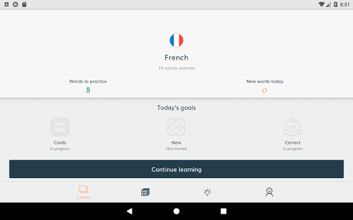 Lingvist: learn a language u2013 fast 2.22.7 screenshots 8