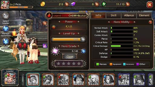 Team Guardian : legend of 23 heroes 2.2.1 screenshots 3